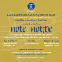 """""""Note di Not(t)e"""""""